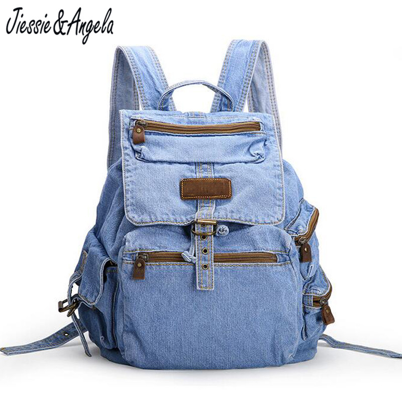Hot Sale Backpack Canvas Women School Bags Teenage Girls Vintage Backpack Travel Bag Shoulder Bags Mochila Feminina hot sale 2017 new arrival bag mochila escolar backpack anime kawaii backpack mochila for teenage girls korean school bags