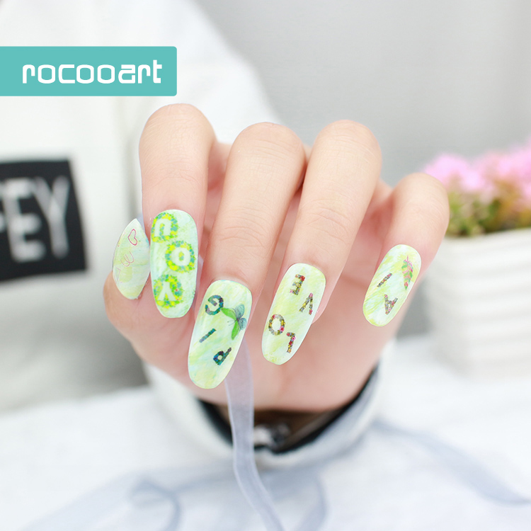 KB 139/2017 Brand New Nail Design Nails Art Sticker Cartoon Font and ...