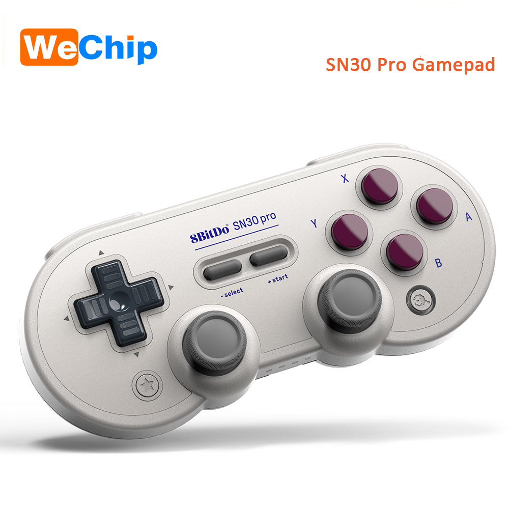 все цены на 8BitDo SN30 Pro GB SN version Gamepad Controller Motion controls Joystick Game for Windows Android macOS Nintendo Switch Steam онлайн