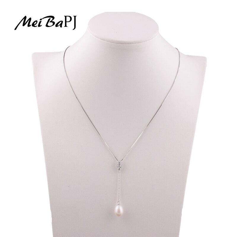 MeiBaPJ բարձրորակ իրական բնական մարգարիտ - Նուրբ զարդեր - Լուսանկար 2