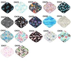Image 5 - [Sigzagor]XS S M L XL Cloth Menstrual Pad Mama Cloth Sanitary Bamboo Charcoal Reusable Washable Panty Liner Regular Overnight