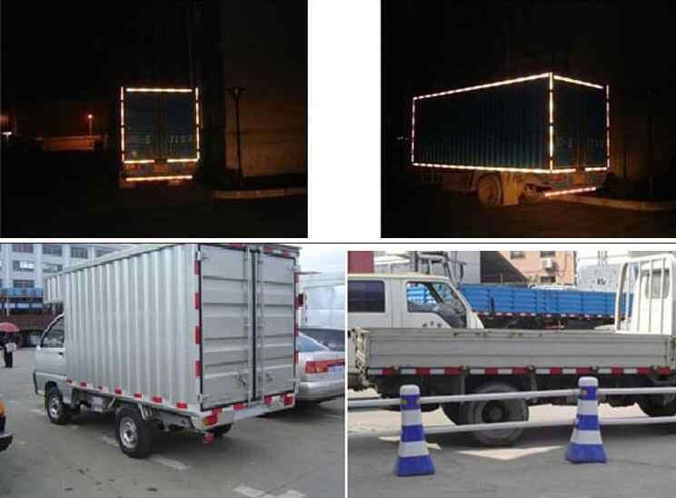 automobile 5x30cm red white Reflective Tape Sticker Safe Warning sign Car construction road symbol Crash Guard etc Wholesale