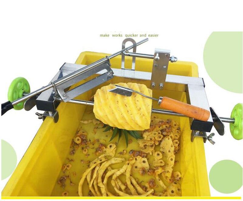 Manuale ananas pelapatate In acciaio inox di Frutta macchina di taglio di verdure peeling macchina YManuale ananas pelapatate In acciaio inox di Frutta macchina di taglio di verdure peeling macchina Y