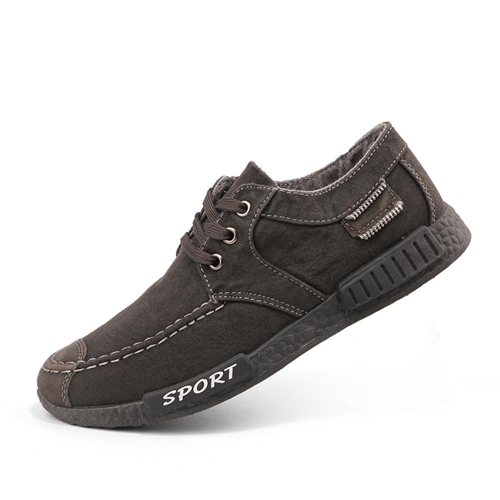 2018Hot venta hombres Denim zapatos de ocio adolescente niños de moda de alta calidad transpirable-usando C zapatos