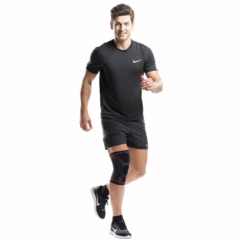 HTB1y CPRFXXXXcfaXXXq6xXFXXXt - Kuangmi 1 PC Compression Knee Sleeve Basketball Knee Pads Knee Support