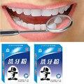 Hombre Oral Dental diente Dientes que blanquea el polvo de lavar mejor que pega artefacto a amarillo polvo de dientes manchas de suciedad manchas de humo
