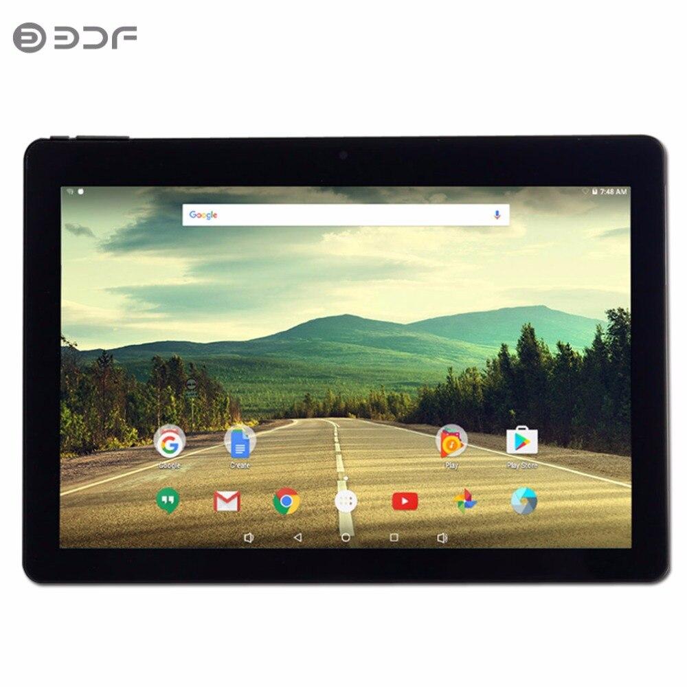 (Le bateau de RU) 10.1 pouce Android 6.0 Tablet Pc Quad Core 1 GB RAM Et 32 GB ROM IPS Soutien vidéo WIFI Bluetooth 1280*800 Tablet