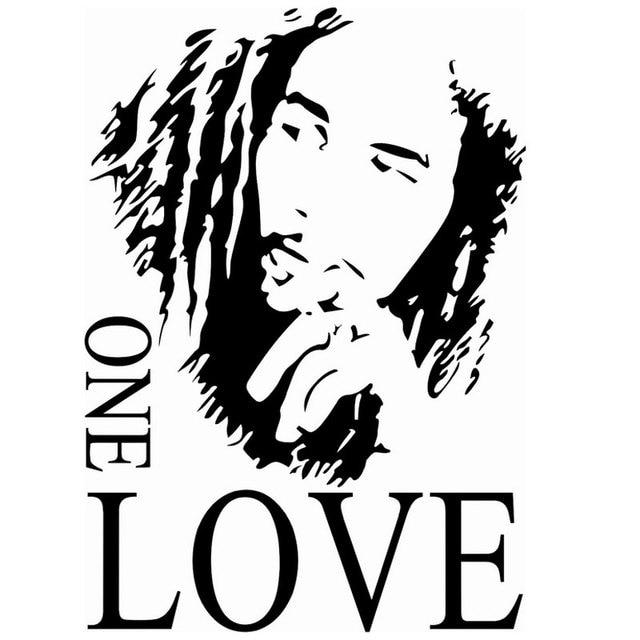 populaire spreuken Populaire BOB MARLEY ONE LOVE Engels Buitenlandse Spreuken  populaire spreuken