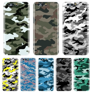 Phone Case Silicone For Huawei Honor 7 7S 7X 7A 7C Pro 8X MAX 10 9 8 Honor 7 8 9 10 Lite Camouflage Military Men Soft Back Cover(China)