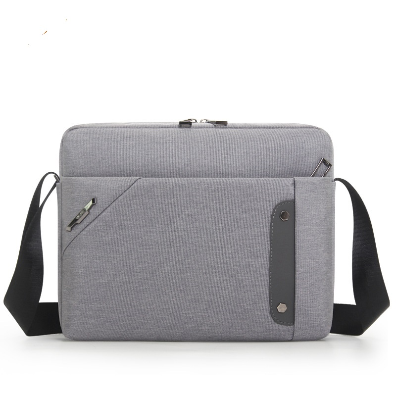 1835H New Fashion Male Single Shoulder Bag 11inch  Oxford Cloth IPAD Leisure Simple Cashier Men Briefcase