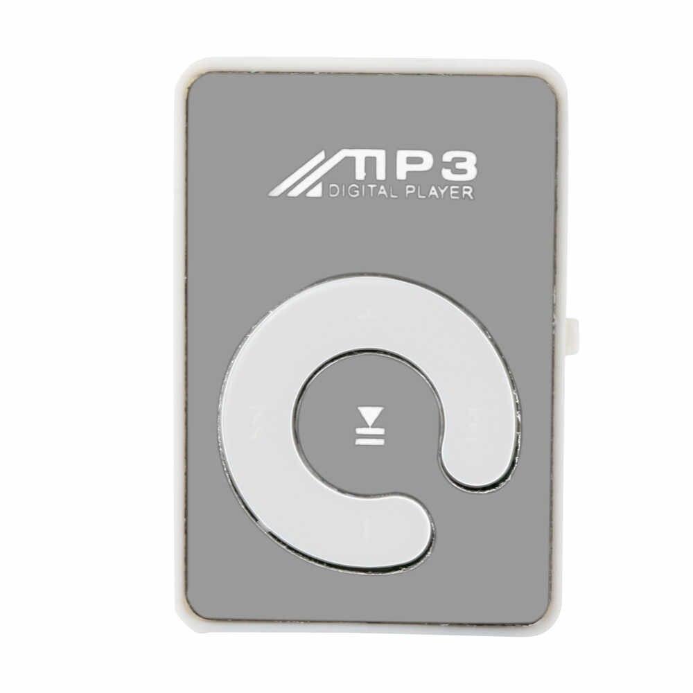 ミニクリップ花柄 MP3 プレーヤー音楽メディアのサポートマイクロ SD Tf カード HIPERDEAL ドロップシップ