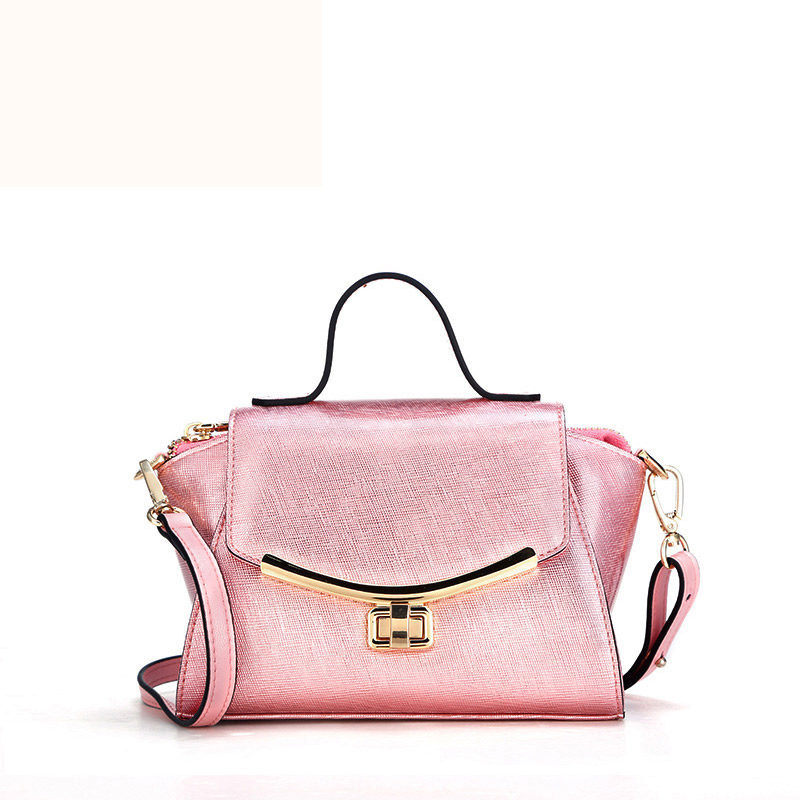 De Cuir Main À Simple Aile Émettent Sacs Forme Essence silver blue Épaule pink En Magnifique Noble profile Low Mini Black Femmes Et Conception 0qwqaX8