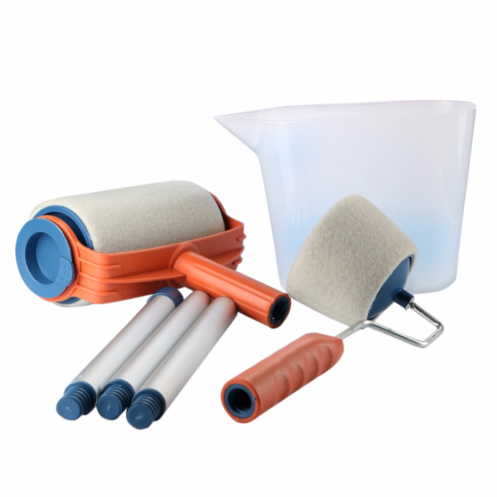 Decorative paint roller painting brush household diy wall for Wall painting utensils