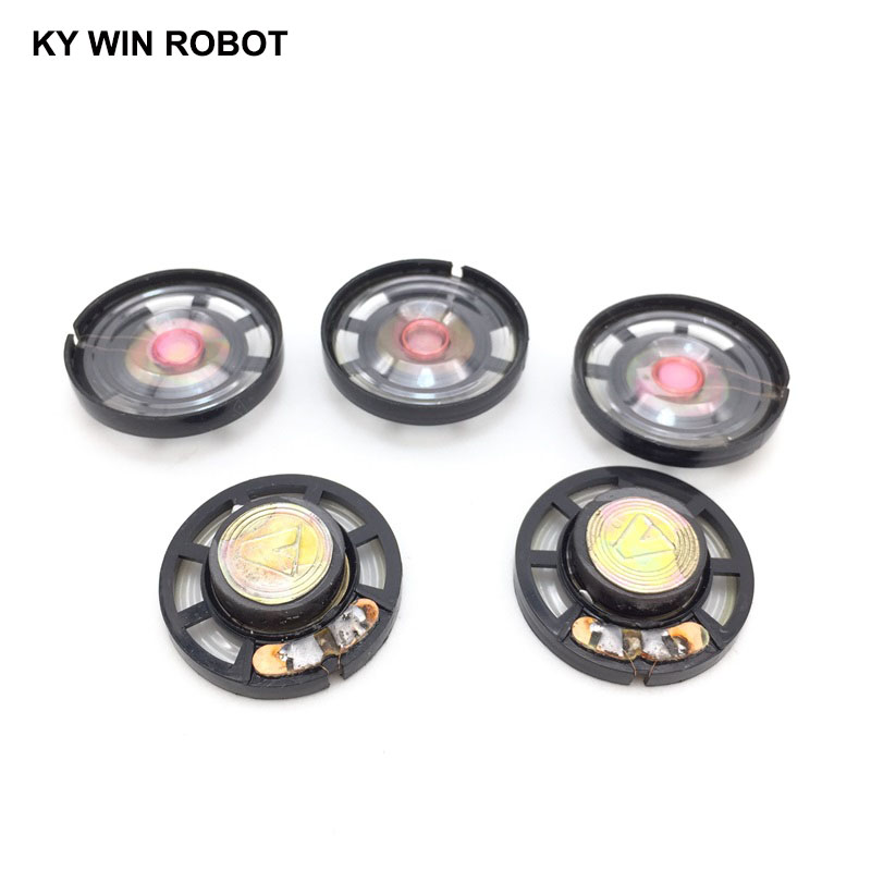 Speakers Jabs 5 Pieces 8 Ohm 0.25 W 29 Mm Magnetic Closure Speaker For Electric Toy Consumer Electronics
