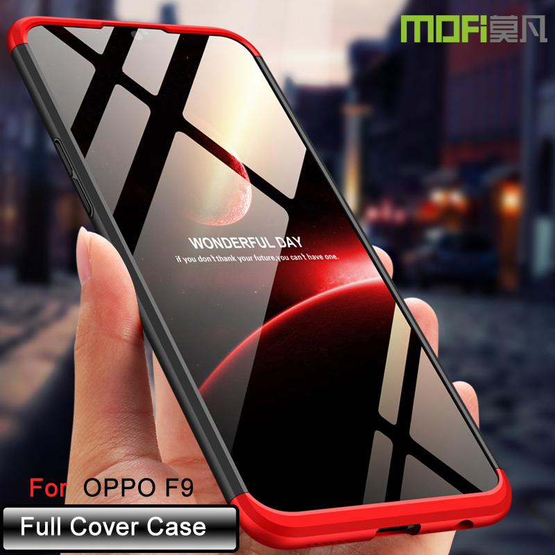 oppo F9 case cover back full cover hard case F9 luxury matte back OPPOF9 case cover slim silicon oppo mofi original for oppo
