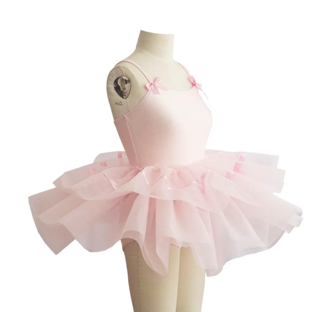 Gymnastics Leotard for Girls Ballet Dress Kids Tutu Dance Wear Costumes Ballet White Lace for Girl Ballerina Clothes