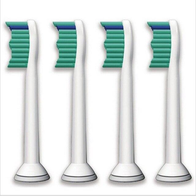 4 шт./лот Замена Зубная Щетка Головки для Philips Sonicare ProResults HX6013/66 HX6530 HX9340 HX6930 HX6950 HX6710 HX9140
