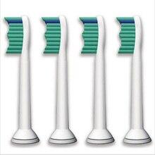 4 шт./лот замена зубная щетка головки для philips sonicare proresults hx6013/66 hx6530 hx9340 hx6930 hx6950 hx6710 hx9140(China (Mainland))