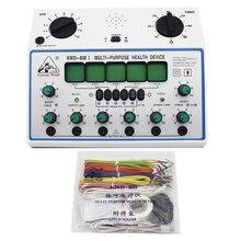 KWD808 I elektrikli akupunktur stimülatörü makinesi Kwd808i 6 kanal çıkış yama masajı elektrik sinir kas stimülatörü