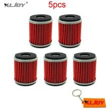 5x filtro de aceite para Yamaha YZF R125 125 WR 125R 125X YZ 250 250F 450F 450 WR250F WR450F WR250X WR250R YZ450F YZ250F YZ250 YFZ450