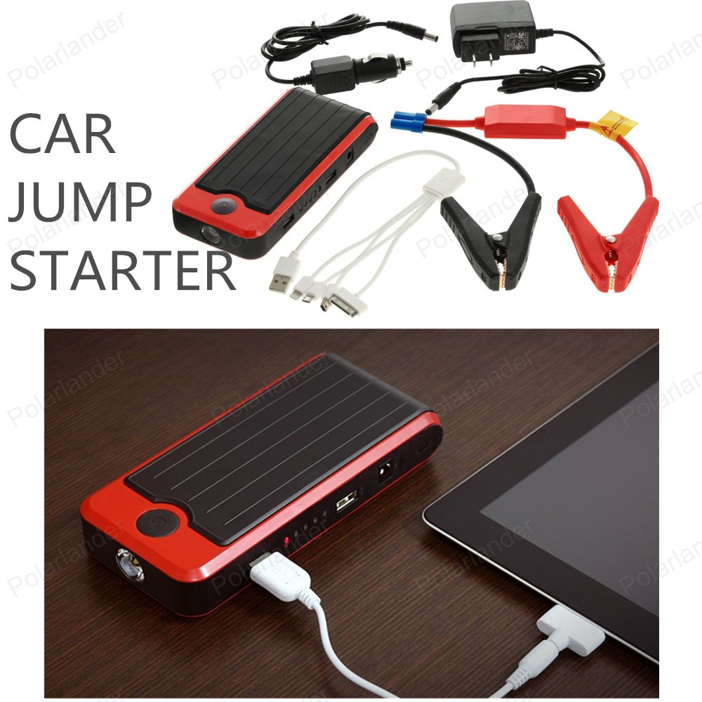 ФОТО Car jump starter 2016 best price Multi-Function Car Jump Starter 18000 mAh for  Car 12v Portable Jump Starter Power Bank