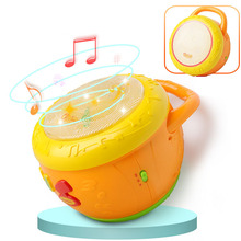 2019 New Childrens Electronic Music Exquisite Creative Drums Children Learning Education Toys Baby Birthday Gift