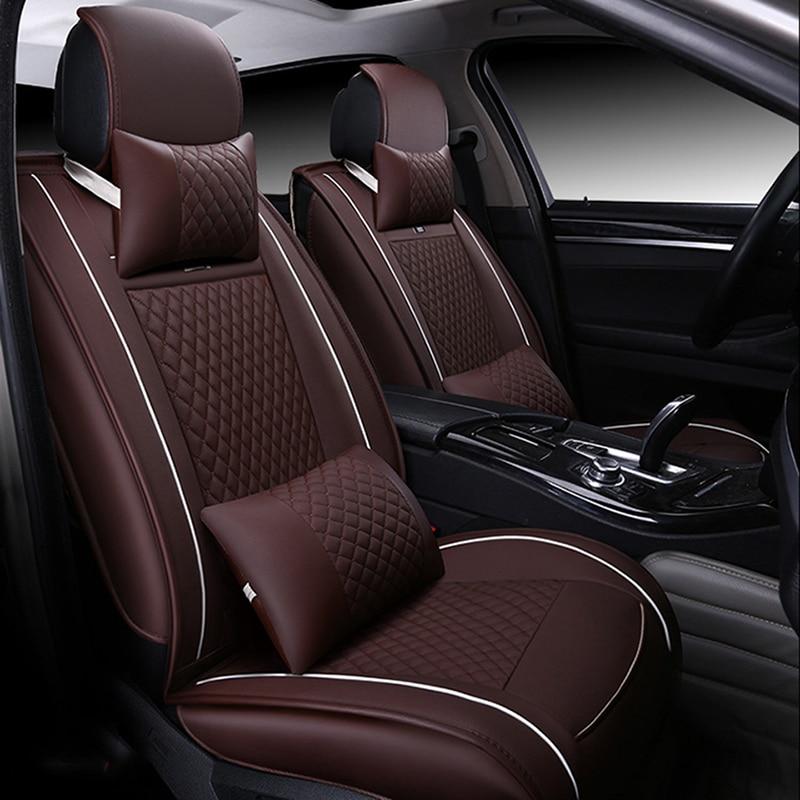 цена на Universal car seat covers for audi a3 8p a1 a3 a4 a4l a5 a6 a6l a7 a8 8p 8v a4 b6 b7 b8 a6 c5 c6 c7 q5 q7 tt Auto accessories