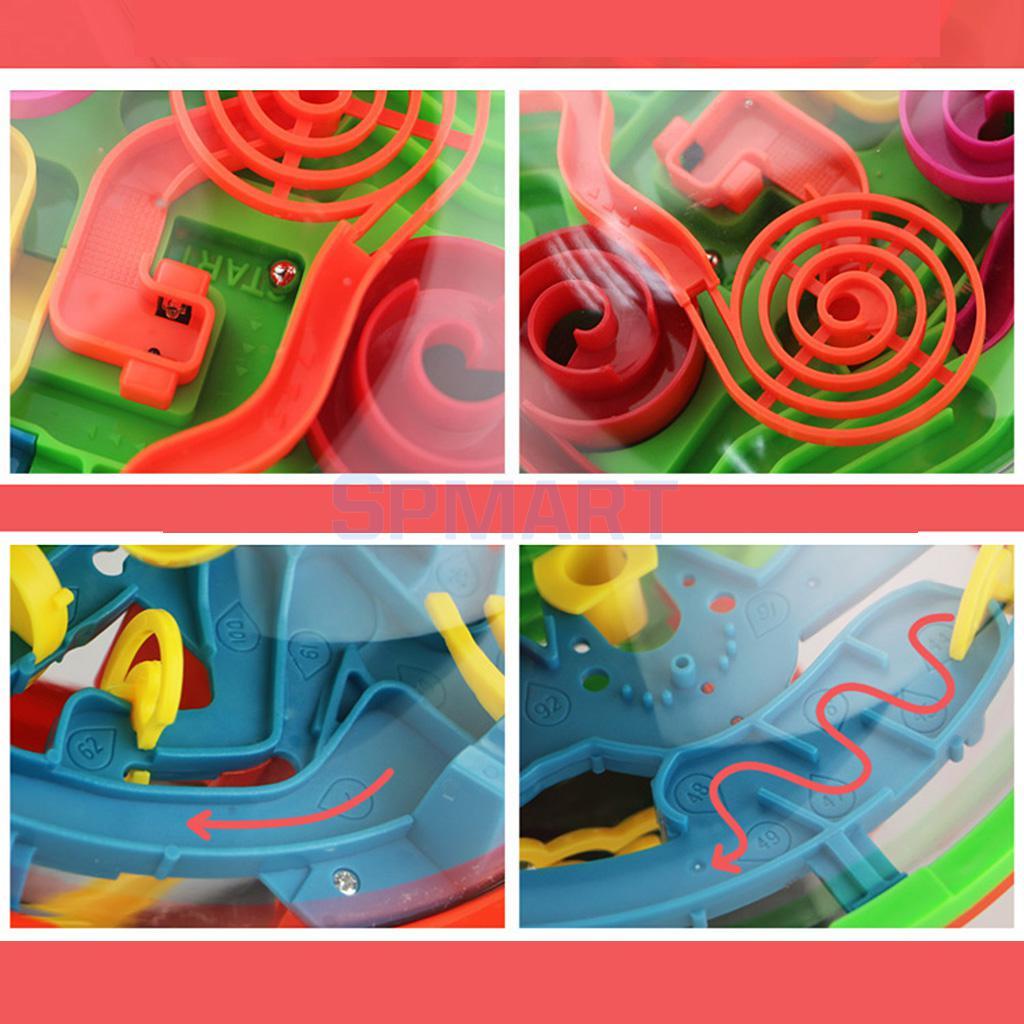 138 Barriers Perplexus Original 3D Puzzle Ball Maze Brain Teaser Labyrinth
