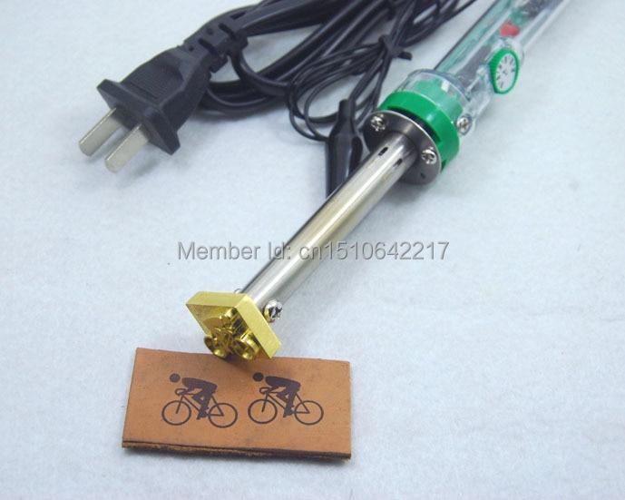 Branding iron Leather tool Stamp tool Stamp custom Make leather logo custom logo heating tool ...