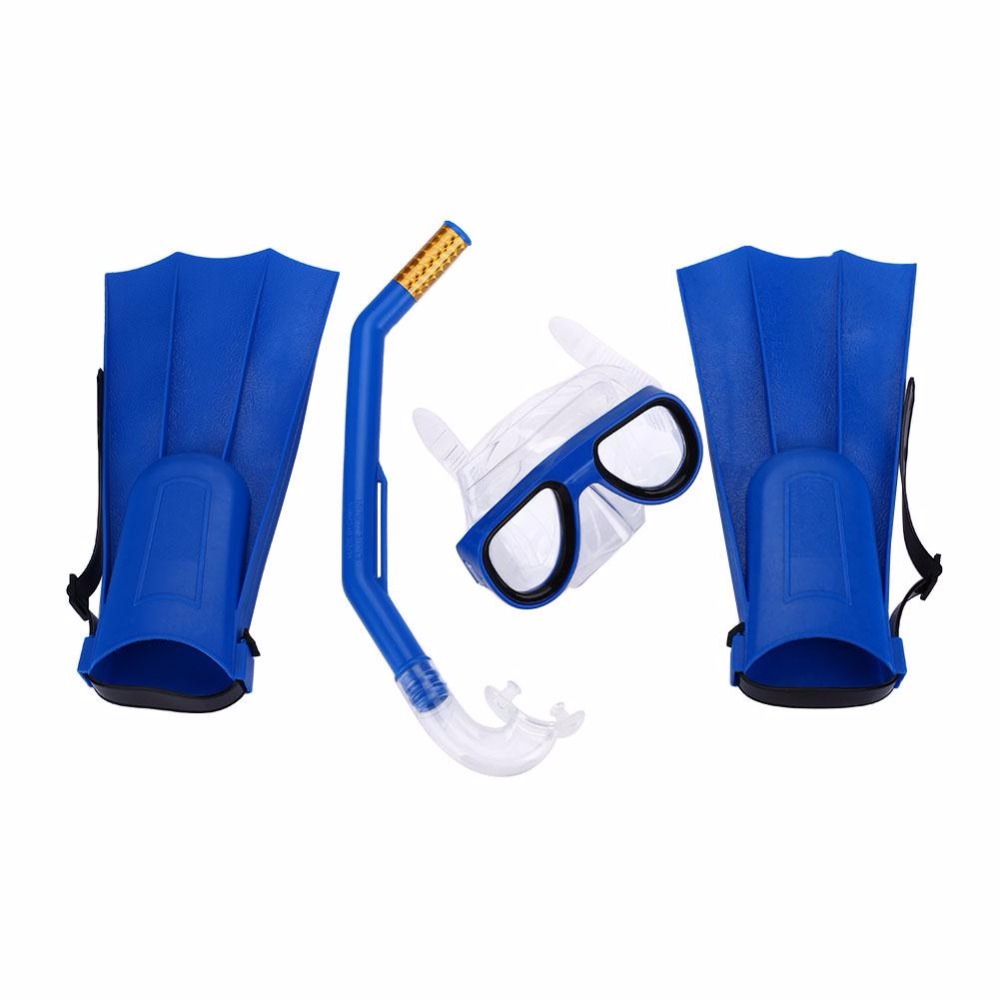 Professional Swimming Kit Diving Mask Breathing Tube Fins Water Sports Pc Children Anti Fog Diving Mask Snorkel Glasses Goggles At All Costs