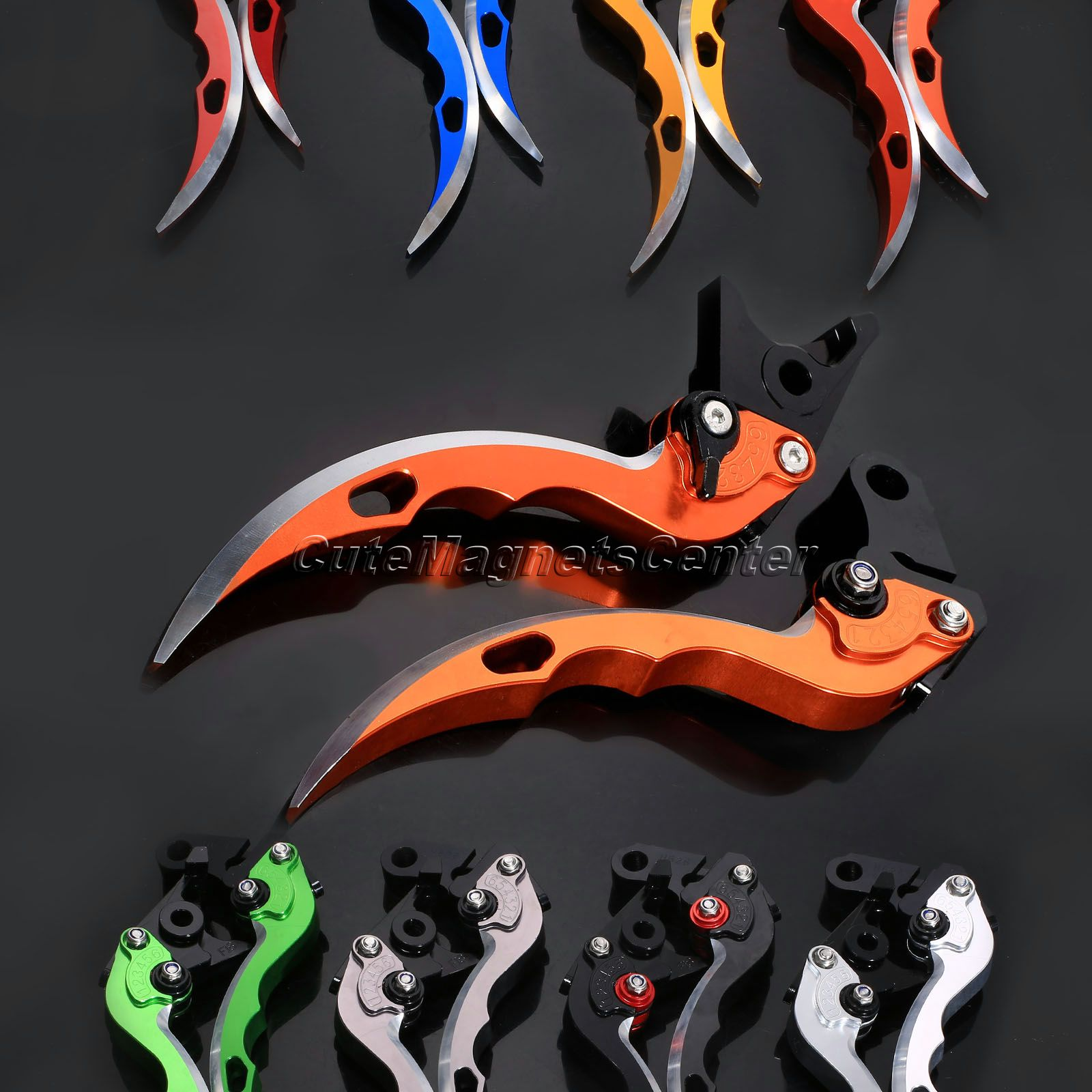 For KTM 690 Enduro R 2014 (DB-12/A-90) 8 Color CNC Adjustable Levers Brake Clutch Levers Blade Motorcycle Brakes Accessories fx cnc motorcycles folding extendable brake clutch levers aluminum adjustable ktm 690 duke smc smcr 690 enduro r 2014 2017