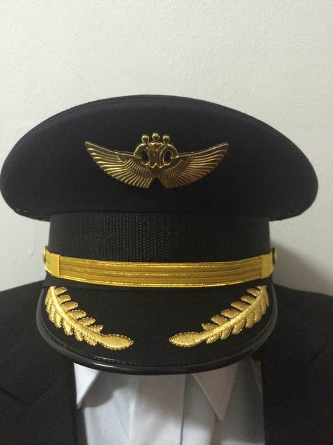 e8a01156eb7 International airline pilot captain hat aviation big top cap aviation  apparel wholesale custom
