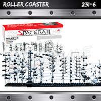 6000cm Rail niveau 6 marbre course labyrinthe montagnes russes ascenseur électrique modèle bâtiment tige apprentissage cadeaux roulement balle Sculpture