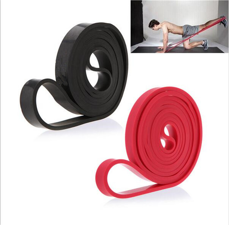 208cm Natural Latex Pull Up Physio Resistance Bands Fitness CrossFit Loop Bodybu