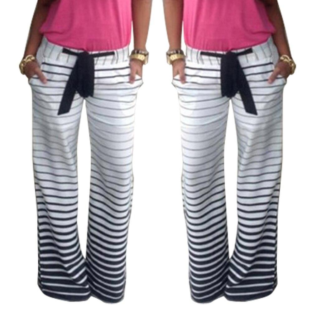 Hot Women   Pants   High Waist   Wide     Leg     Pants   Classic Floral   Pants   CGU 88