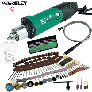 Image 3 - 6mm 480W High Power Electric Mini Drill Engraver With 6 Position Variable Speed Dremel Rotary Power Tools With Flexible Shaft
