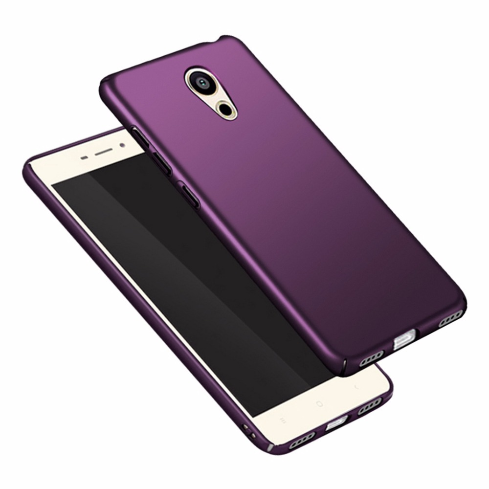 For Meizu M5C Case Cover A5 Luxury Matte Shockproof Hard Case For Meizu M6 Note cases Meizu M5S M5 S Phone Cases Back Cover M 5S
