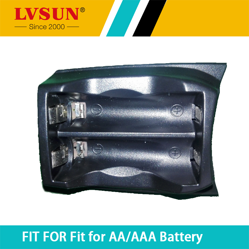 LVSUN AA AAA Battery Box Adapter Case Plate for PC201 and PC8CC charger LS CNM