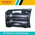 Lvsun aa/aaa caja de la batería cargador adaptador caso placa para pc201 y pc8cc ls-cnm
