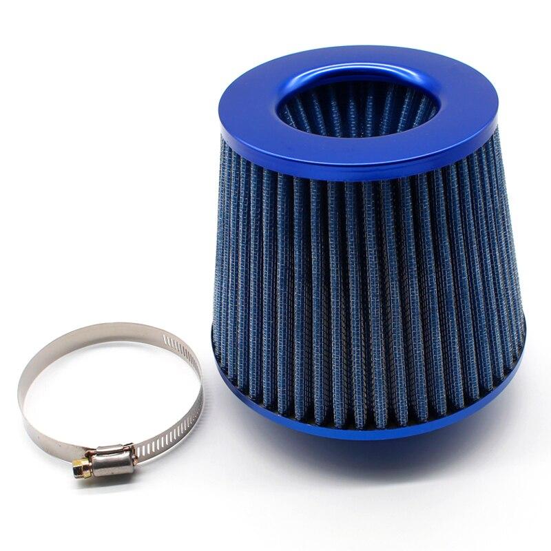 Filtro de aire filtro universal de aire de entrada de aire de dise/ño de seta de gasa de espuma de alto flujo Amarillo