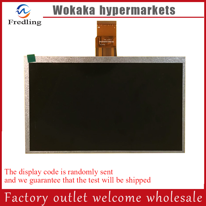 9inch TFT LCD LCM Display PANEL SCREEN 800*480 For Tablet PC HW8004800F-4D-0A-20 aa084vc06 8 4inch lcd display screen industrial lcd panel 800x600 tft lcd