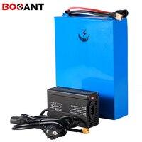 60 V 20Ah E-bike Lithium-Batterie für Original Sanyo 18650 zelle elektrische fahrrad batterie 60 V 1500 W 2500 W + 50 Amps BMS + 5A Ladegerät