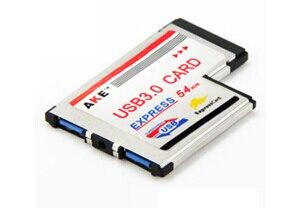 Envío Gratis nuevo cuaderno Express a tarjetas de ampliación USB 3,0 ExpressCard 54 slip Adaptador convertidor Motor, placa de expansión de L293D control de motor escudo Duemilanove