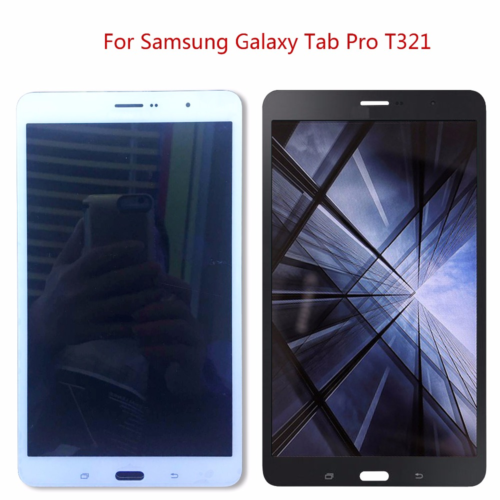 Für <font><b>Samsung</b></font> Galaxy Tab Pro SM-T320 T321 <font><b>T325</b></font> <font><b>LCD</b></font> Display Touchscreen Digitizer Montage image