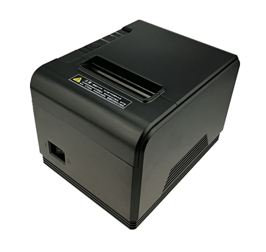 wholesale pos printer High quality 80mm thermal receipt printer automatic cutting machine printing speed Fast low noise printer lcod t58zu pos58zu thermal receipt printer bill printing machine black