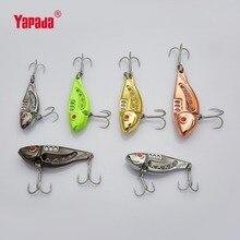 YAPADA VIB 303  Space 10g/15g/20g/25g Treble HOOK 43mm/49mm/53mm/60mm Multicolor Metal VIB Fishing Lures