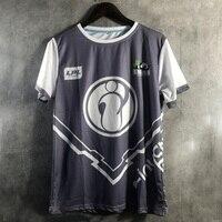lol 2018 s8 Finals IG Invictus Gaming WE RW Team Team Conquered T Shirt Men Lol Same T Shirt men summer