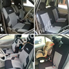 AUTOYOUTH Brand Embroidery Car Seat Covers Set Universal Fit Most Cars Covers with Tire Track Detail Styling Car Seat Protector 3