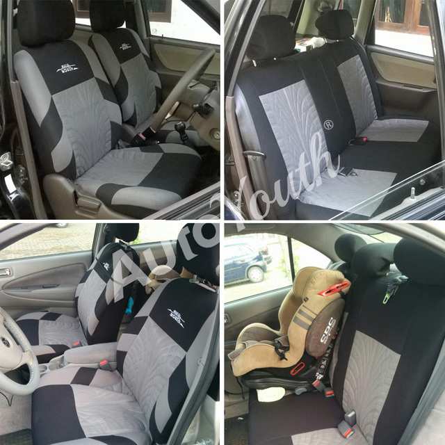 Embroidered Universal Car Seats 4