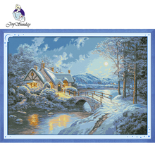 Joy Sunday,Homeland,cross stitch embroidery set,Needlework counted cross-stitch patterns,Scenery pattern cross stitch kit joy sunday wine cross stitch embroidery set cross stitch pattern needlework counted cross stitch patterns chinese cross stitch